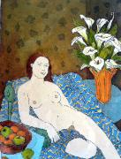 TV 322: Nude with fruit