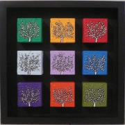 CON: Dinky Trees, Set of 9 blocks