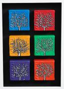 CON: Dinky Trees, Set of 6 blocks