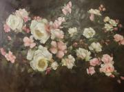 Nicky Botha: Pink & white roses