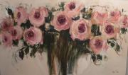 CON: Pink roses III (cream background)