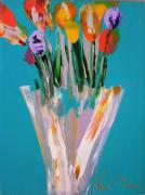 RM323: Turquoise Tulips