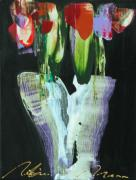 RM332: Tulips in Black