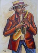 VG41: Saxophone Player