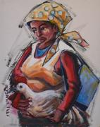 VG28: Lady with chicken